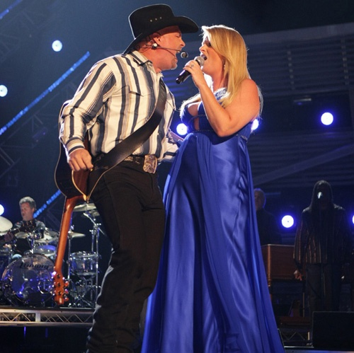 Academy of country music photos for Garth brooks trisha yearwood songs