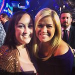 "Jennifer A. - Nashville, TN - ""Hanging out with Kelly Clarkson at the ACM Awards."""
