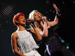 "Kelli T. - Missouri City, TX - ""Jennifer Nettles and Rihanna performing 'California King Bed' at the 2011 ACM Fan Jam."""