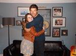 """Sara W. - Talladega, AL - """"Hugging it out with Brett in Birmingham, AL! :)"""""""