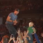 "Tim N. - Vermilion, OH - ""Luke Bryan and my 2 year old son Trey. Trey went as a pre celebration for him finishing his chemo treatment which started when he was diagnosed back in May 2012."""