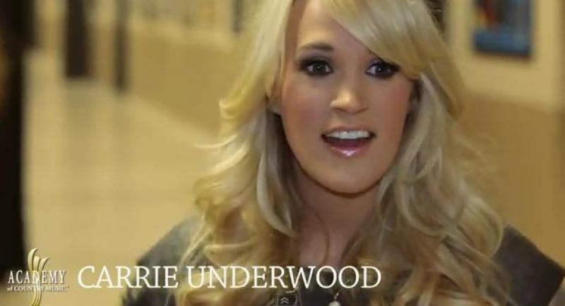 ACM AWARDS 2012 Rehearsals - Carrie Underwood