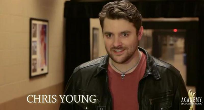 ACM AWARDS 2012 Rehearsals - Chris Young