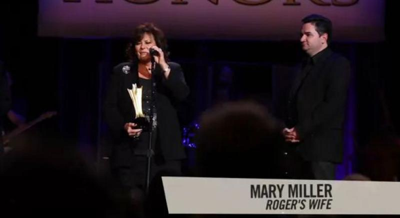 ACM Honors 2012 - Roger Miller