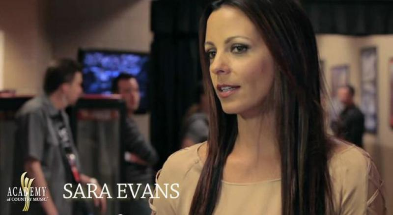 ACM AWARDS 2012 Rehearsals - Sara Evans