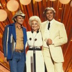 Jerry Reed, Tammy Wynette and John Schneider, 1983