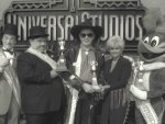Buck Owens and Lorrie Morgan at Universal Studios, 1990