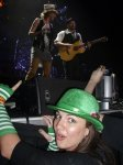 "Jessica W. - Troy, MI - ""Last year from the sugarpit on St. Patricks Day, in awe at how close I am to my favorite band, Sugarland."""