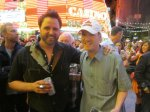 "Jonathon T. - Alberta, Canada - ""Having a beer with Randy after his Fremont ACM Week Show 2013."""