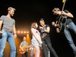 Kelley F. - Chattanooga, TN - I'm a big Lady Antebellum fan and this was my 3rd concert within the past year. My daughter, sister & I couldn't believe it when Hillary Scott leaned down and invited my niece, Anna, on stage to sing 'American Honey'�