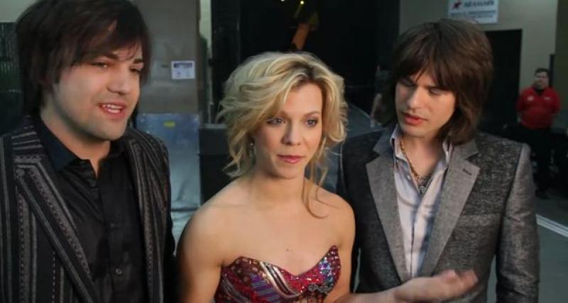 The Band Perry - ACM Presents: Lionel Richie and Friends - In Concert Backstage Interview