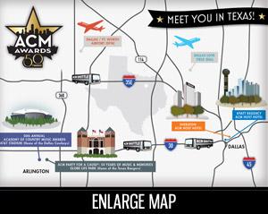 ACM 50 Event Map