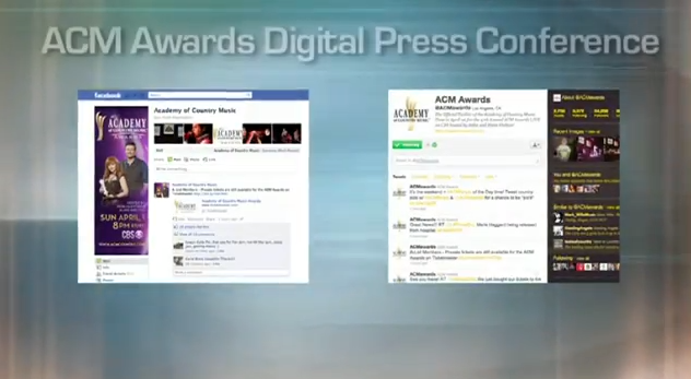 ACM Awards Digital Press Conference - Submission Guidelines